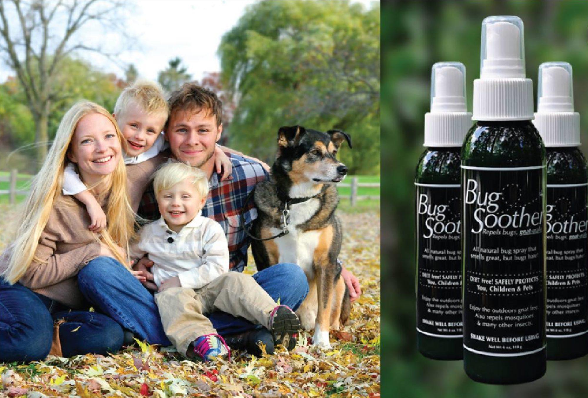 BugSoother - 100% přírodní repelent bez chemie